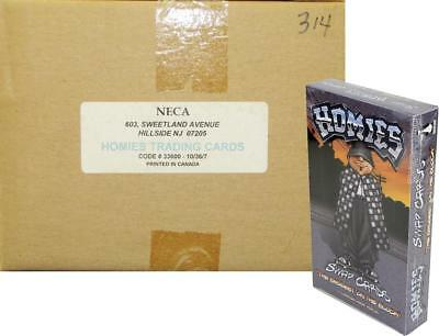 """Homies """"The Baddest on the Block"""" Trading Cards 10-Box Case (NECA) - CLOSEOUT !!"""