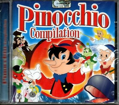 Aa.vv. Pinocchio Compilation Lettera A Pinocchio The Simpsons Cd Sealed Italy