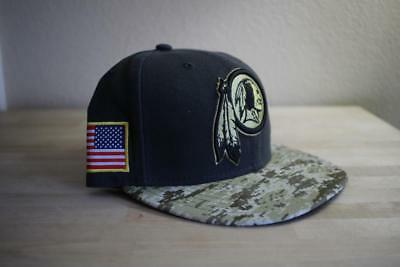 buy online 57945 05cf4 ... denmark washington redskins new era 59fifty nfl salute to service fitted  hat camo 7 1 2