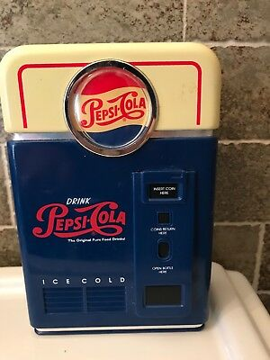 Pepsi Cola  Bank Plastic 1996