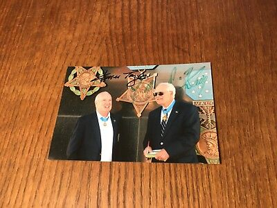 Signed 4X6 Photo By Fleming & Taylor! Vietnam War Medal Of Honor Recipients Moh