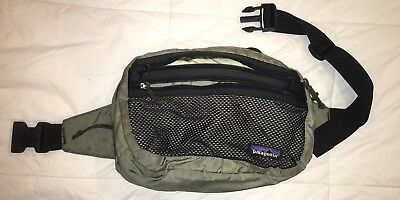 Patagonia Fanny Pack Travel Hip Waist Bag Hiking Day Pack Grey