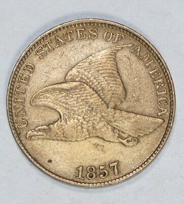 BARGAIN 1857 Flying Eagle Cent EXTRA FINE Small 1c