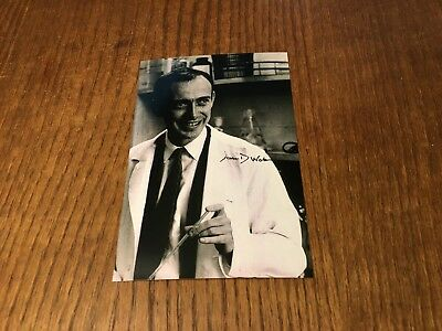 James D Watson Signed 4X6 Photo! Discovered Double Helix Of Dna W/ Crick! Rare!