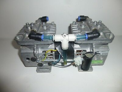 Thomas 8010ZV-28 Vacuum pump 115V Germany