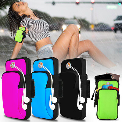 Sport Running Jogging Gym Armband Arm Bag Case Pouch For iPhone X/8/7/Cell Phone