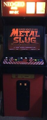 Neo-Geo MVS 2 Slot Arcade w/Multi Game Cart! Great shape for its age!