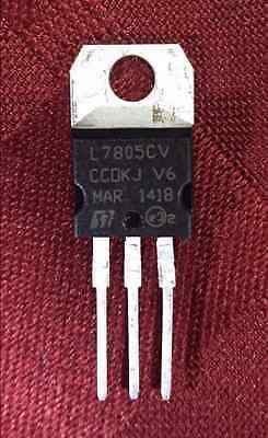 2-10 Pcs x L7805 - 5V 1.5A Voltage Regulator - TO220 - US FREE Shipping