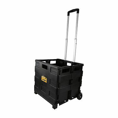 Rolling Portable Tool Carrier Storage 80Lbs Capacity Lightweight Compact Durable