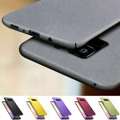 Ultra Thin Matte Hard PC Cover Case For Samsung Galaxy Note 10 Plus S10 S9 S10e