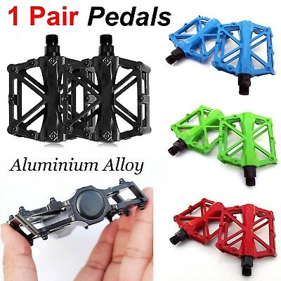 Pedals Bike MTB BMX Mountain Road Bicycle Cycle Aluminium Alloy Flat Platform AU