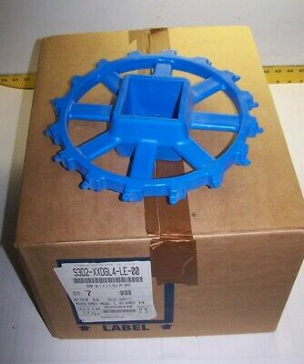 "7) NEW INTRALOX 10.1"" x 2.5"" 16 TEETH BLUE SPROCKET S3D2-XXDGL4-LE-00"