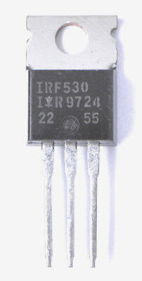 IRF530 IR Transistor N-MOSFET unipolare 100V 16A 90W TO220AB