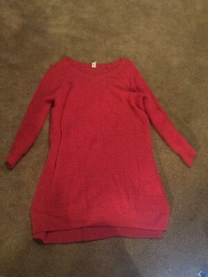 Old Navy Maternity Oversized Pink Sweater Size Large