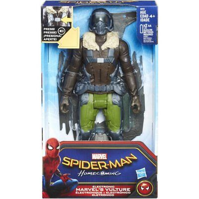 Spider-Man Homecoming Electronic Marvel's Vulture Talking Figure Spiderman