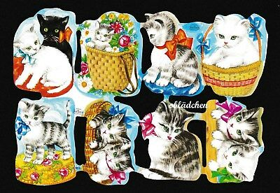 #Poetry Pictures #Krüger 98-03, Sweets Cats Very Cute, with Logo & Number, RARE