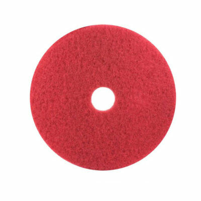 3M 5100 Red Buffer Pad, 13 in, 5/case (see notes)