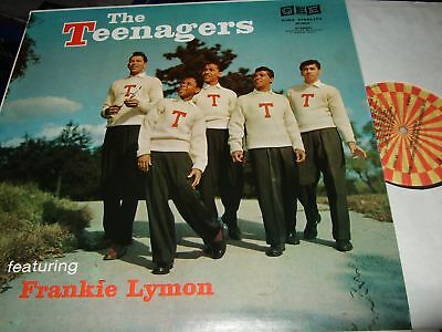 The Teenagers : Featuring Frankie Lymon Lp 1984 Roulette Usa