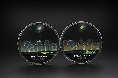 Korda Dark Matter Kable Leadcore All Colours & Length