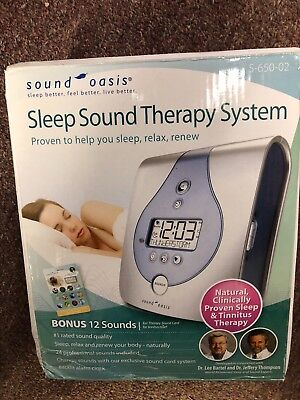 Sound Oasis Sleep Sound Therapy System with Bonus 12 Sounds