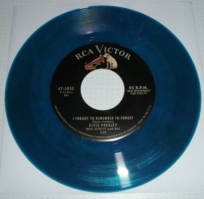 ELVIS Vinyl Single - I FORGOT TO REMEMBER TO FORGET / LITTLE MAMA