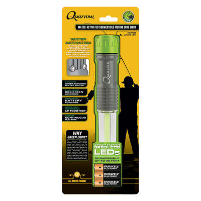 Quarrow ® 3 C•O•B LED Submersible All Water Night Fishing Light 20' Drop AA Op
