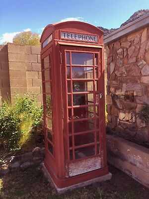 British Telephone Kiosk K6 - Authentic Real Phone Booth Mfg. by Carron Foundry