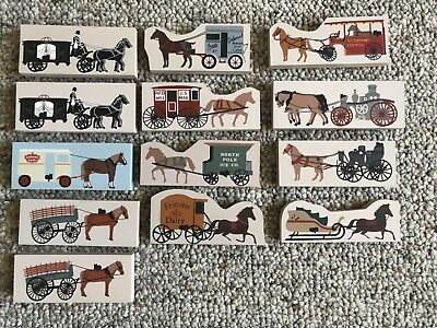 Cats Meow Village Horse and Carriage Accessories (13 Lot)