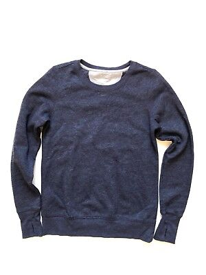 Tek Gear Womens Blue Sweater Small Finger Holes