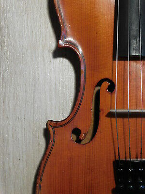 Erich von Lülsdorff 1/2 Geige Violine violon скрипка fiddle violin Germany 1950