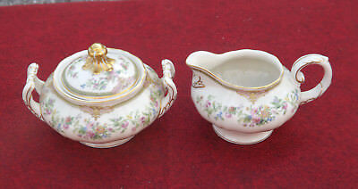Krautheim China AIDA Creamer & Sugar Set