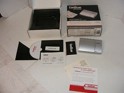 Dymo cardscan 62 personal business card scanner 4499 picclick cardscan personal csp a08480 personal business card scanner vgc reheart Image collections