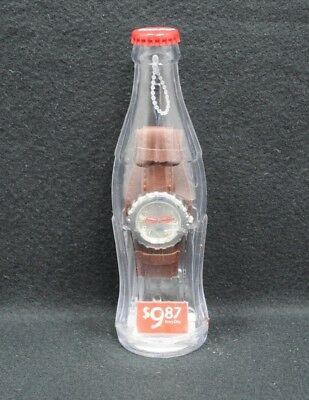 Coca Cola Watch In A Plastic Bottle New Sealed 2002