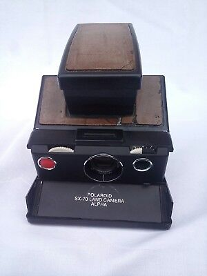 Polaroid SX-70 Land Camera Alpha Sofortbildcamera...