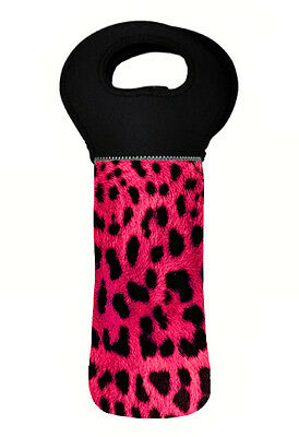 Leopard Wine Carry Bag Cooler
