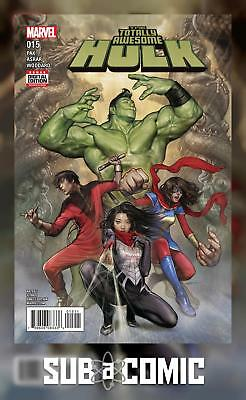 Totally Awesome Hulk #15 Now (Marvel 2017 1St Print) Comic