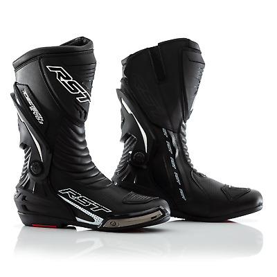 RST Tractech Evo III 3 Motorcycle Sports Race Boots CE - Black