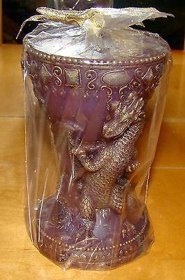 DRAGON Chalice Pillar Candle (Fantasy Collection by Westland, 1672)