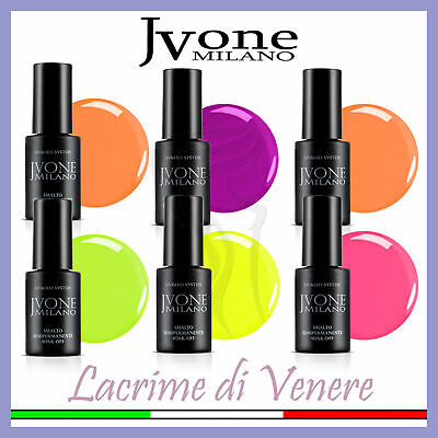 Jvone Smalto Semipermanente Soak Off 5Ml Collezione 2018 Unghie Smalti Nails