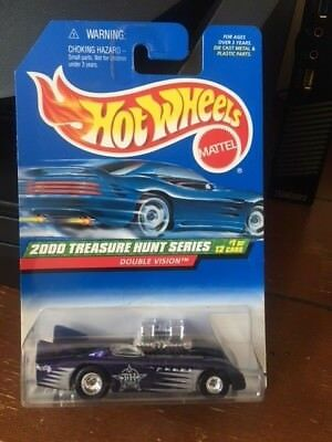 2000 Hot Wheels Treasure Hunt Series Double Vision #49
