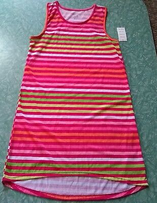 ⭐️KOMAR KIDS BIG Girls  Flip-Flop Pajama Top Striped XL 14 16 ... 7f537f62c