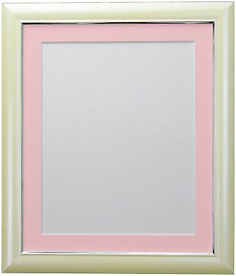 FRAMES BY POST Soda Picture Photo and Poster Frame, Plastic, Cream with Pink 20