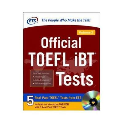 Official TOEFL iBT Tests. Volume 2 by N/A Educational Testing Service (author)