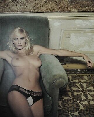 Marc Lagrange Original XXML Photo Print 50x70 Asa Green Velvet 2010 Marina 2001