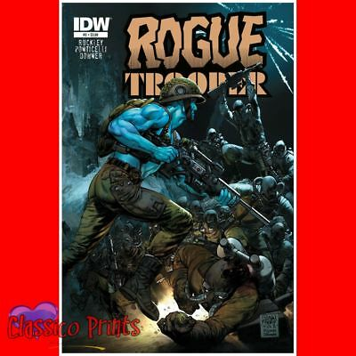 """Rogue Trooper 2000AD Poster Photo Postcard Size 6""""x4"""" (MP6357)"""