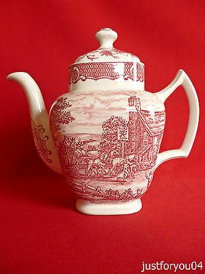 Woods & Sons : The Post House - The Red Lion Collectors Coffee Pot