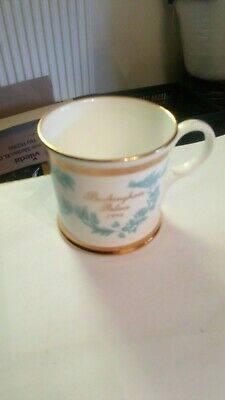 Buckingham Palace Souvenir 3 Inches Cup Fine Bone China Commemorative Mug 1994
