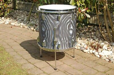 "Sonor The Swinger 16"" Floor Tom Charcoal Silver MZ / Vintage / Drum"