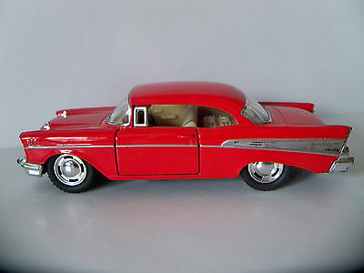 1957 Chevrolet Bel Air 5 Diecast Pull Back Action 140 Scale