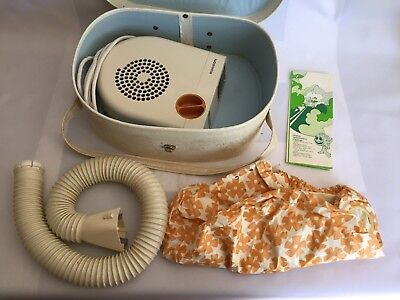 1960's Vintage/Retro Collectable Ronson portable bonnet hairdryer